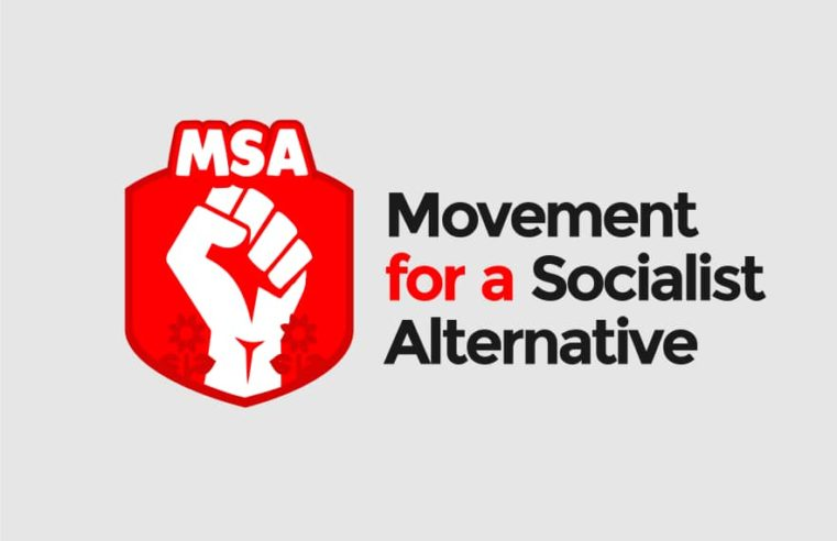 Official Declaration Of The Movement For A Socialist Alternative