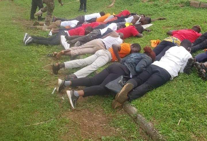 NIGERIA'S SECRET POLICE BRUTALISES PROTESTERS; ARRESTS MSA MEMBER IN OSOGBO