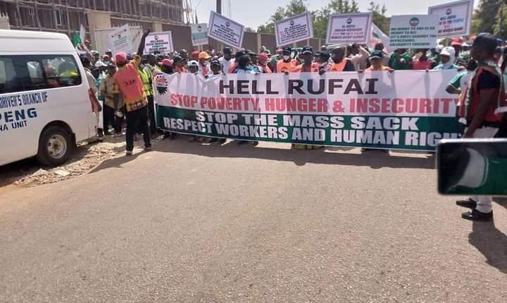 EL RUFAI'S THREAT TO ARREST LABOUR LEADERS: FOR A 24-HOUR WARNING GENERAL STRIKE IN SOLIDARITY WITH STRIKING KADUNA WORKERS!